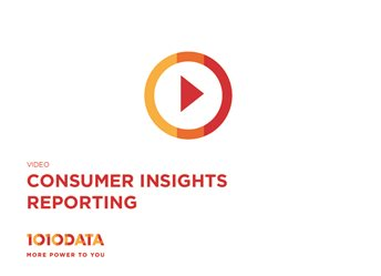 Consumer Insights Reporting Demo