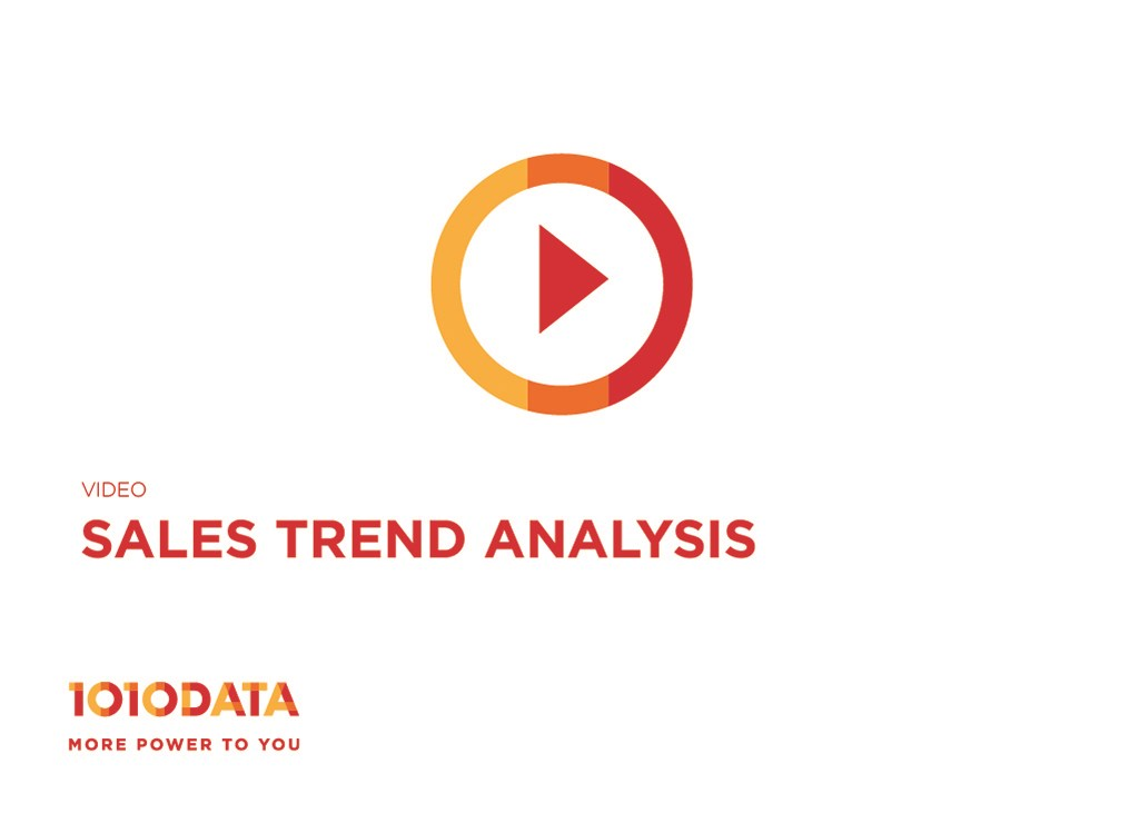 Sales Trend Analysis Demo | 1010Data